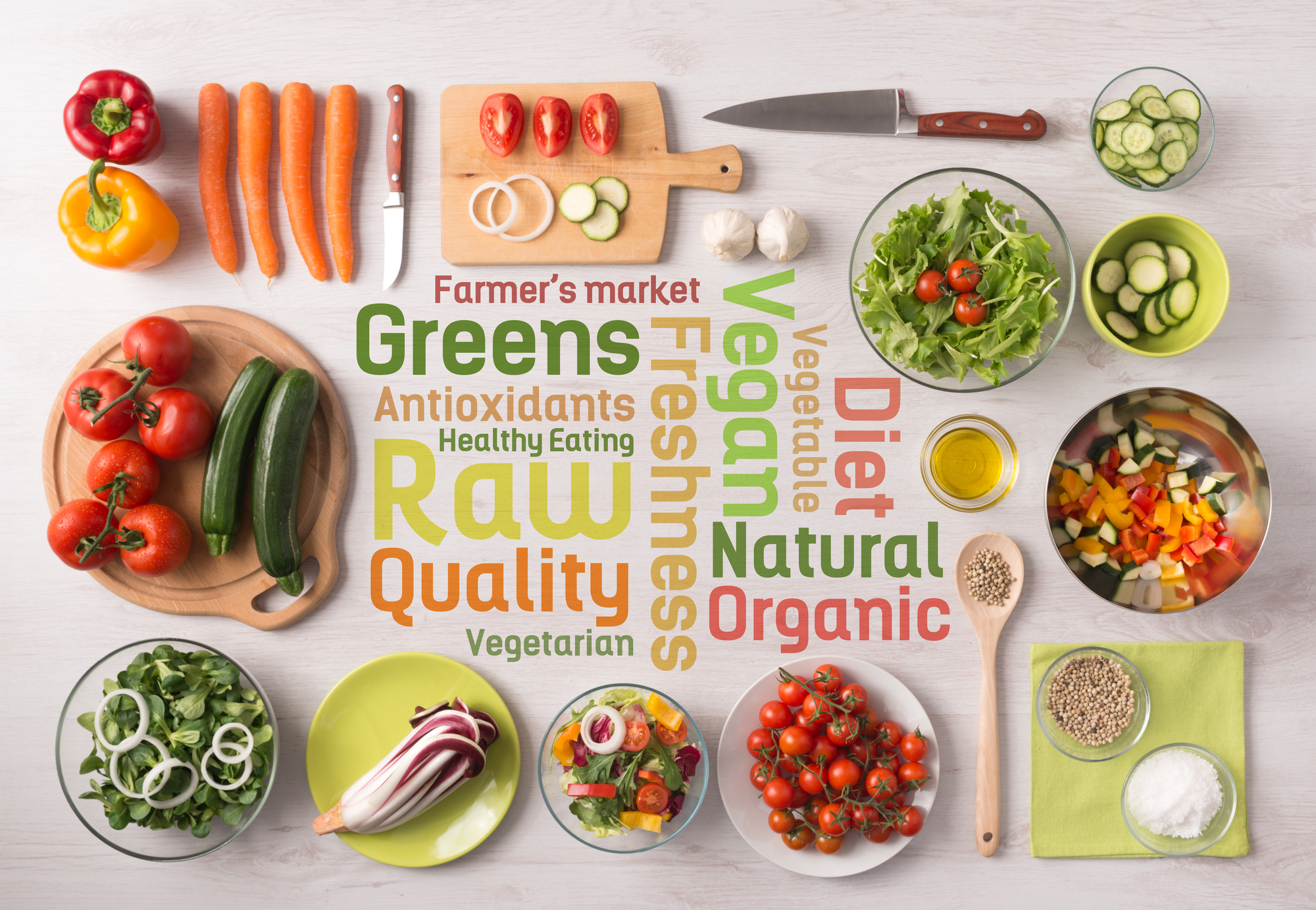 Healthy eating and food preparation at home